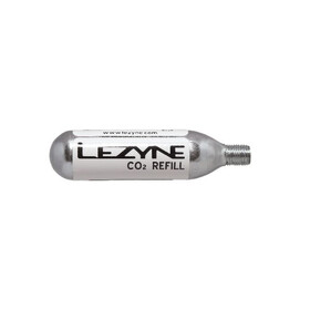 Lezyne 16G Threaded CO2 Cartridge 5 Stück silber